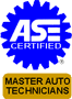 ASE Master Certified Technicians